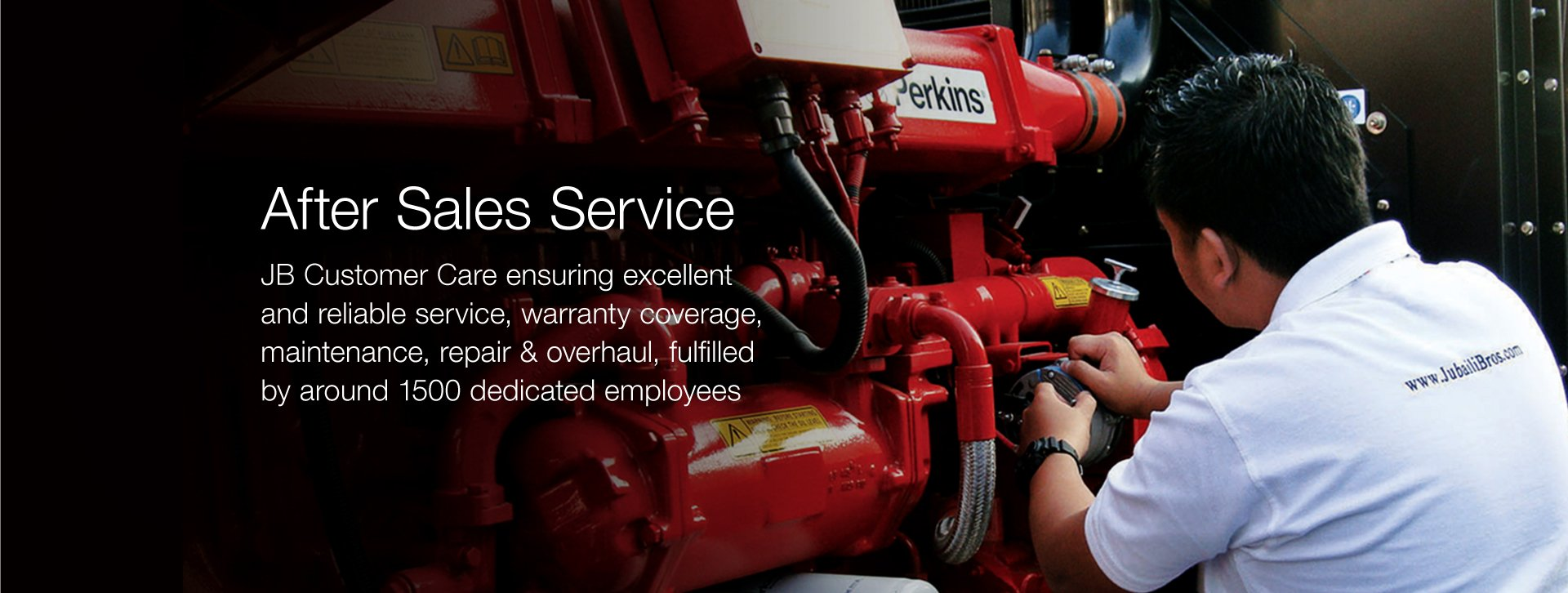 After Sales Service - Generator Companies in UAE